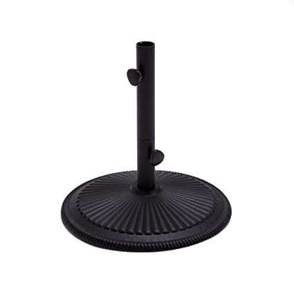 Amazon Com Market Umbrella Base 50lb Treasure Garden Classic