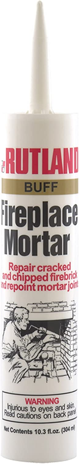 Rutland Products (Buff Rutland Fireplace Mortar 10.3 Oz Cartridge
