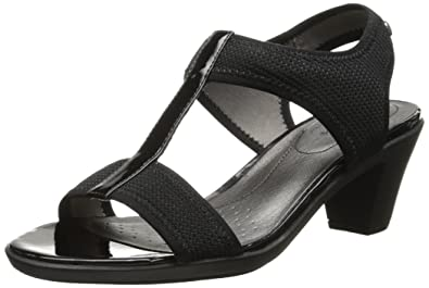 LifeStride Women's Carleigh Dress Sandal, Black, ...