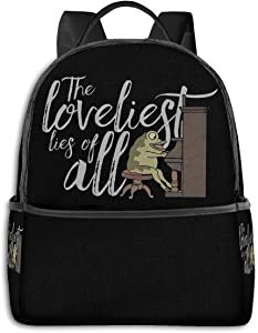 Over The Garden Wall Fashion Print Backpack Unisex