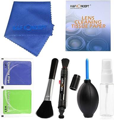 K&F Concept® - Pack de Limpieza para Equipos Fotográficos ...