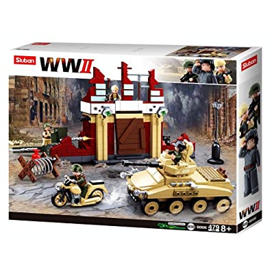 Sluban M38-B0696 Construction Set, Multi Colour: Toys & Games