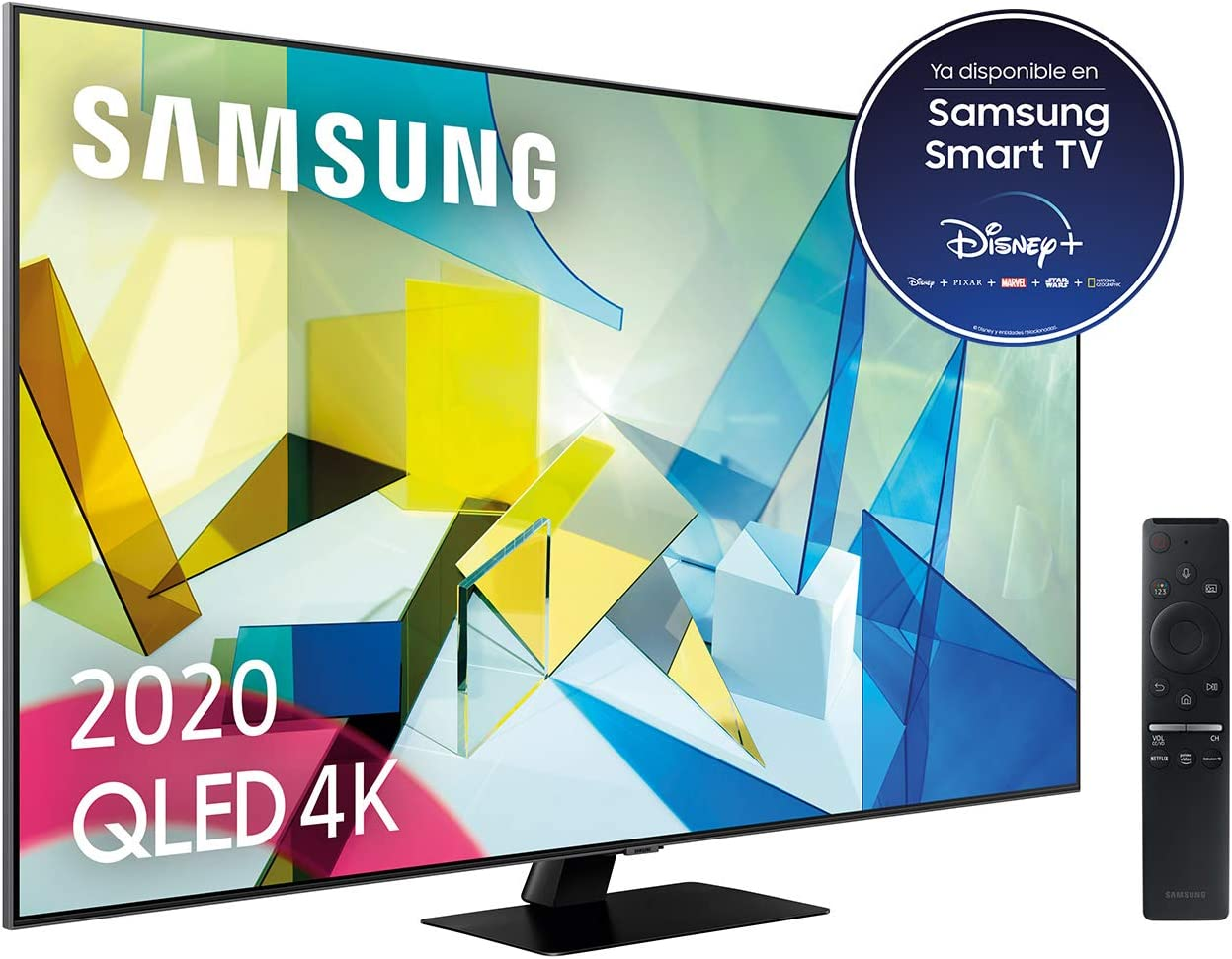 Samsung QLED 4K 2020 65Q80T - Smart TV de 65