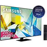 "Samsung QLED 4K 2020 55Q80T - Smart TV de 55"" con Resolución 4K UHD, Direct Full Array HDR 1500, Inteligencia Artificial…"