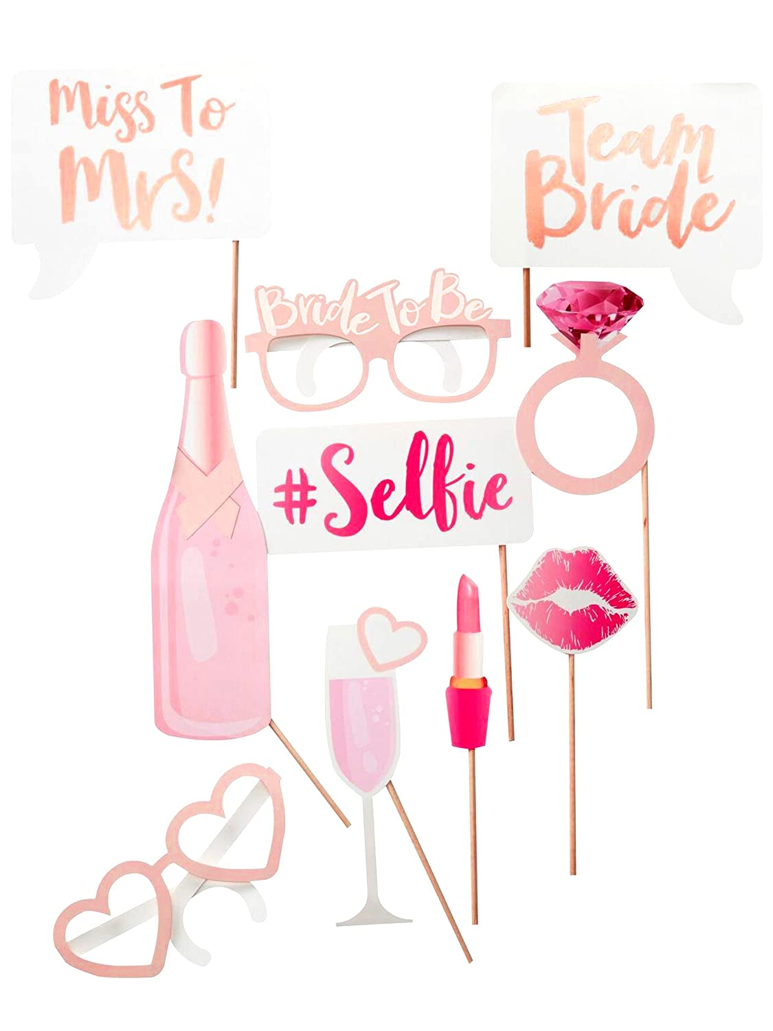 'Team Bride' Photo Booth Props ginger ray TB-607