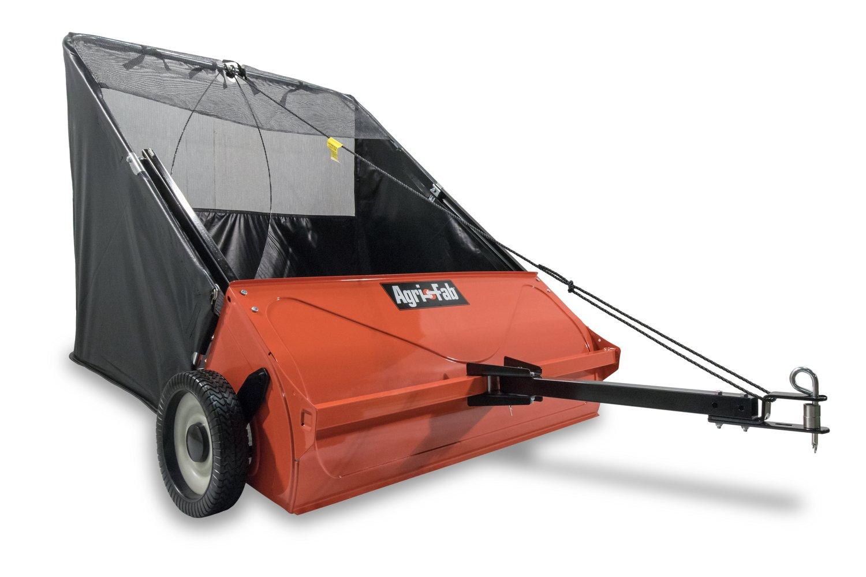 Agri-Fab 45-0521 42-inch Tow Lawn Sweepr, Orange and Black by Agri-Fab