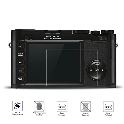 Leica Q Protector de pantalla de cristal templado fiimi LCD ...