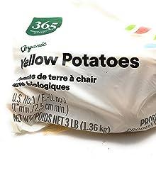 Grimmway, Potato Yellow Bag Organic