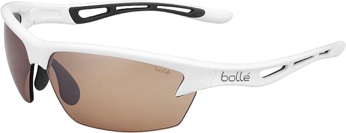 Bollé (CEBF5) Bolt Gafas, Unisex Adulto, Blanco (Shiny), L