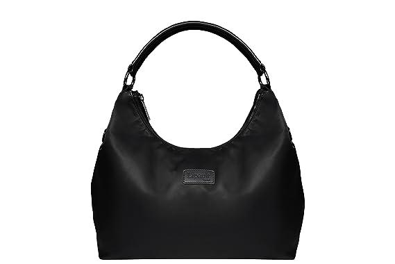 Amazon.com | Lipault Hobo Bag-M, Black, One Size | Luggage ...