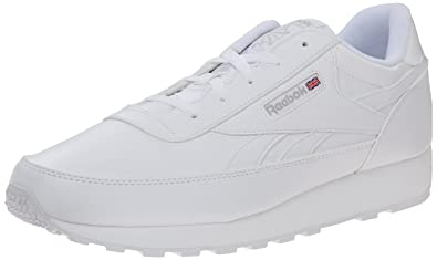 reebok white classic walking shoes