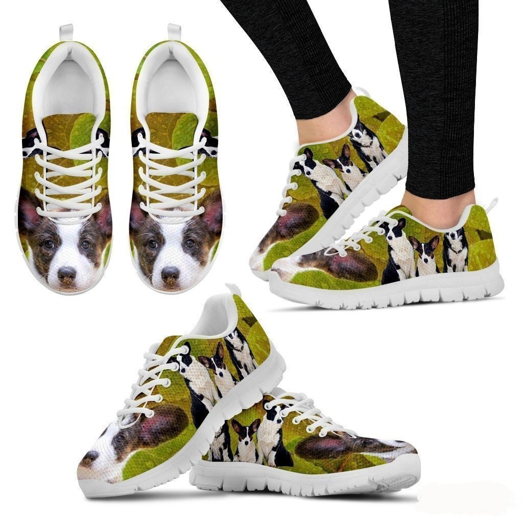 Cardigan Welsh Corgi-Dog 3D Printed Sneakers Women Sneakers US Sizes 5 Light Weight SneakersX for Women Breathable Jogging Running//Gym Shoes 12.
