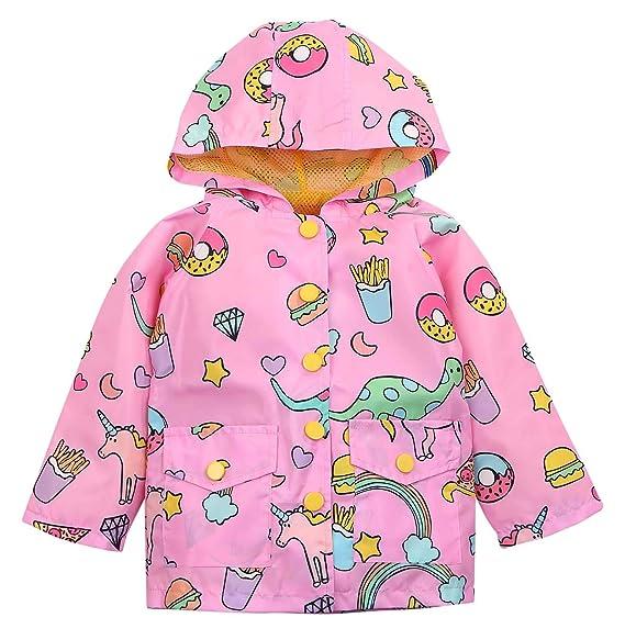 Amazon.com: Sudadera con capucha y capucha para niñas ...