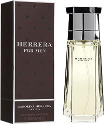 Herrera By Carolina Herrera For Men. Eau De Toilette Spray, 3.4 Ounce