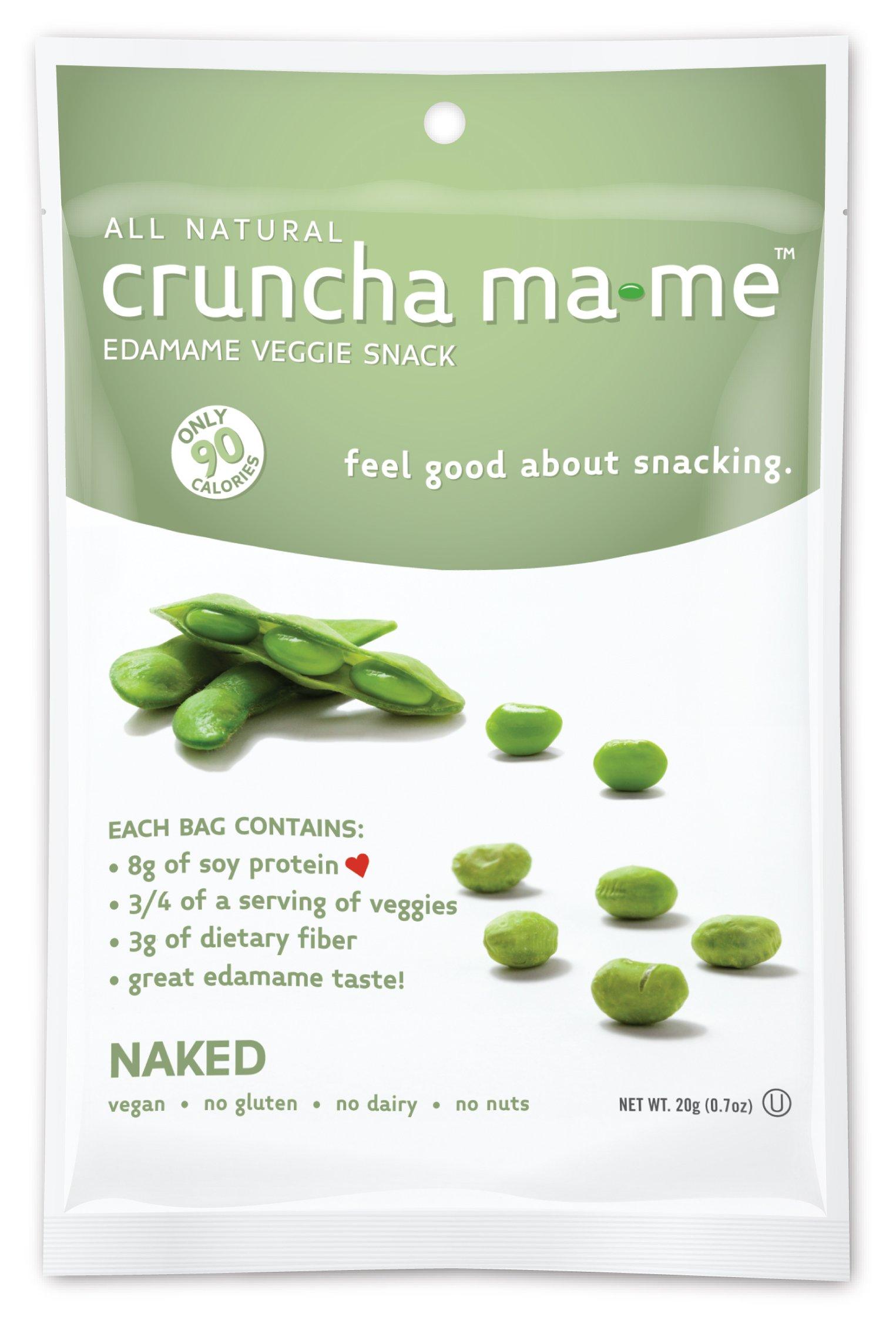 Cruncha Ma-Me, Edamame Naked, 0.7 Ounce by cruncha ma-me (Image #1)