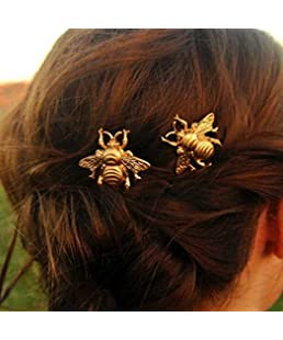 Jovono Hair Clips with Alloy Bee wedding Headpieces for Women and Girl