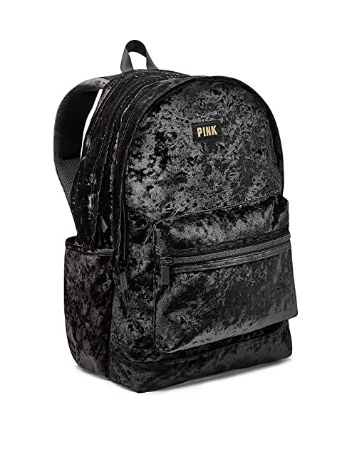 Victoria's Secret Pink Campus Backpack Black Velvet