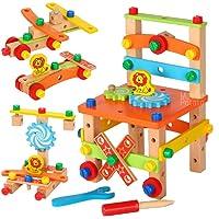 MousePotato Wooden Chair Assembling & Model Building Kit