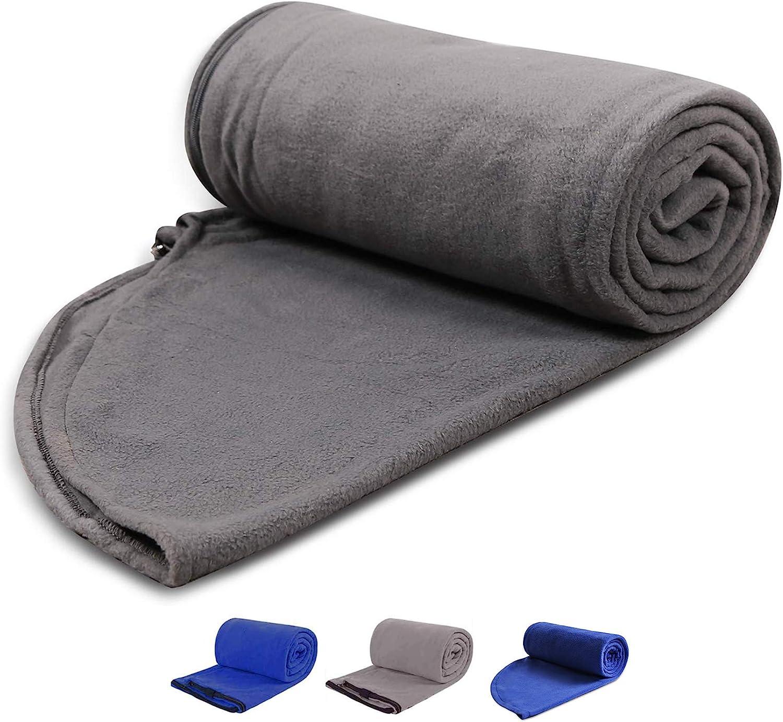 Adult Unisex Camping Fleece Sleeping Bag Liner Thick Warm Outdoor Sleep Mat New