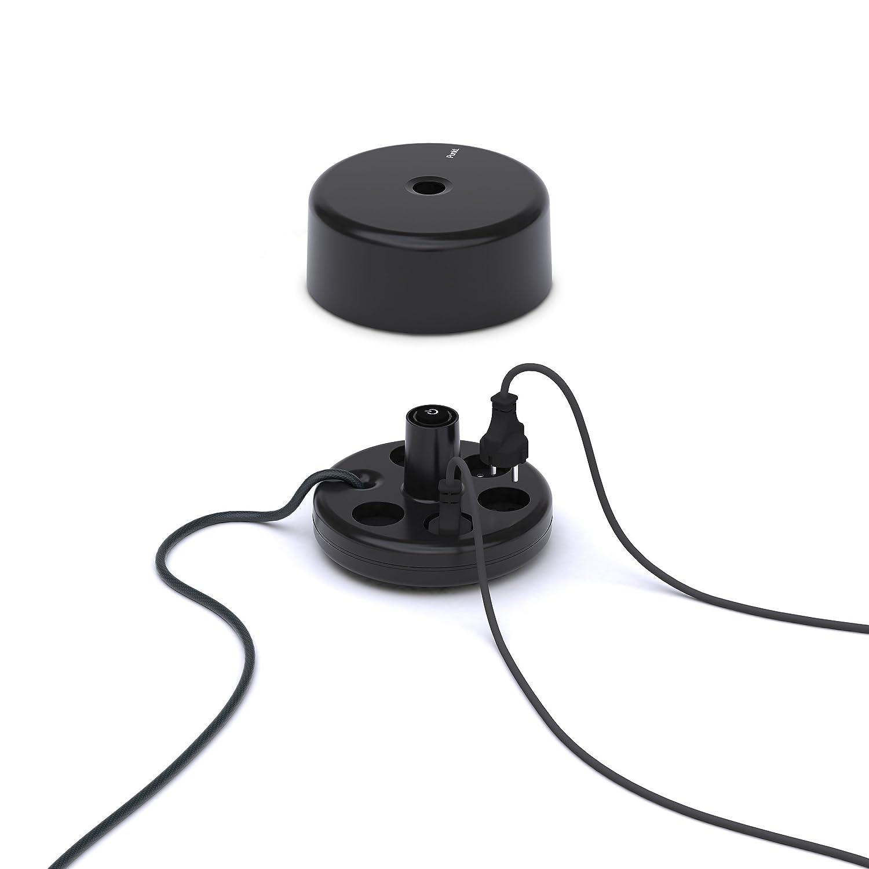 ES01/SHK Cinco Compartimento de Cable alargador shuko Negro Unbekannt Punto