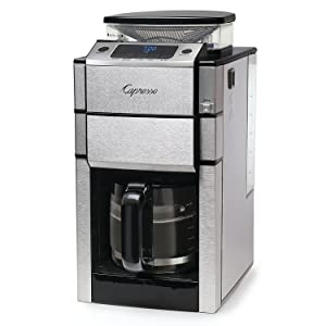 Capresso 487.05 Team Pro Plus Coffee Maker, Glass Carafe, 12 Cup Silver