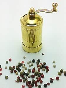 Coffee Grinder, Pepper Spice Grinder, Cumin Grinder, Made from Brass Sozen