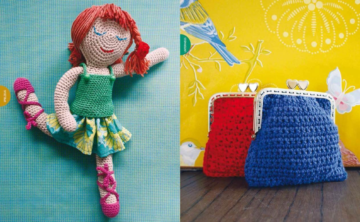 Fröhliche Häkelideen Spielzeug Accessoires Und Kleidung Für Kinder
