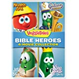 VeggieTales: Bible Heroes - 4-Movie Collection (Noah's Ark / Gideon Tuba Warrior / Josh and the Big Wall / King George and th