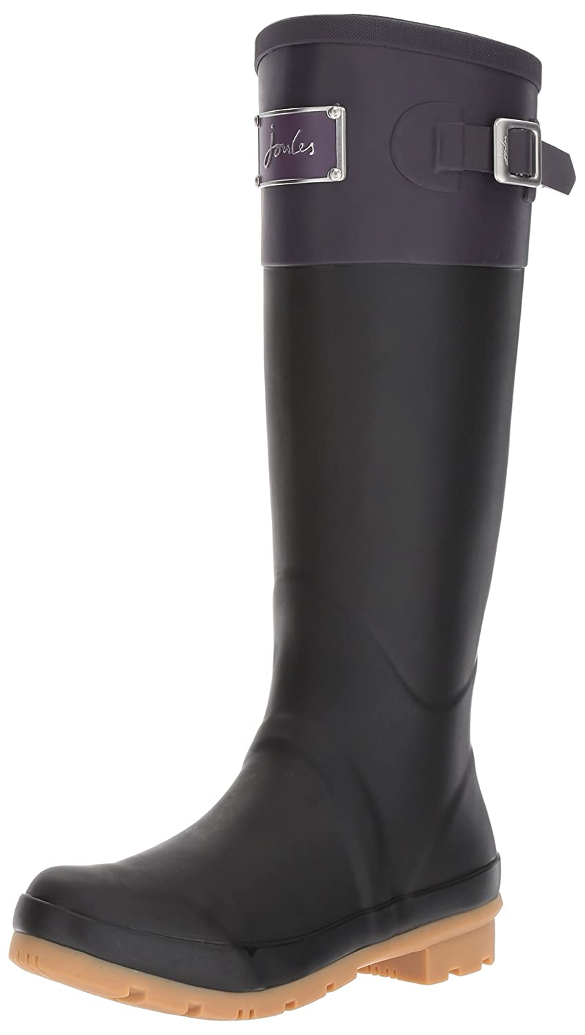 Joules Women's Cavendish Rain Boot B06XGNL7YZ 9 B(M) US|Deep Purple