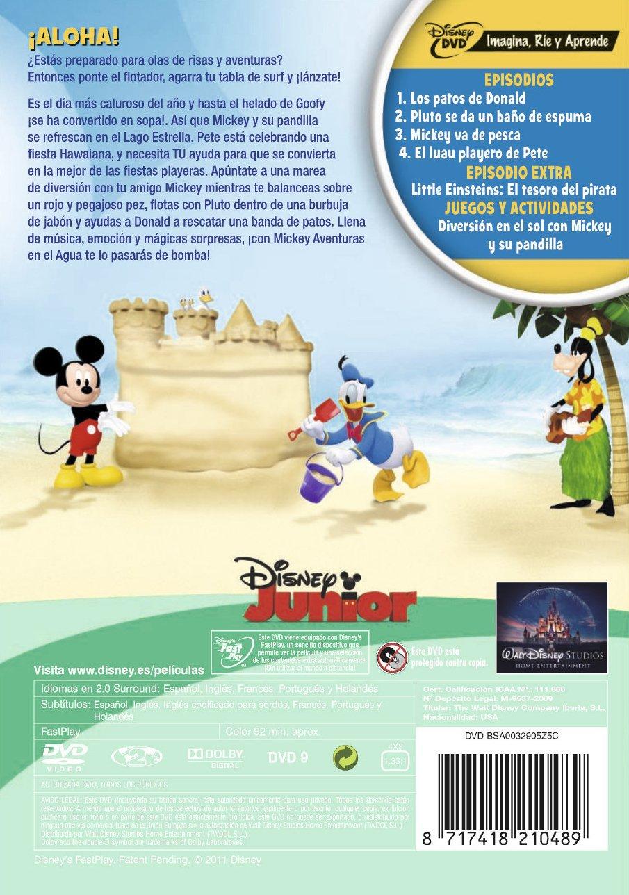 La Casa de Mickey Mouse: Aventuras en el agua [DVD]: Amazon.es: Sherie Pollac, Rob Laduca: Cine y Series TV