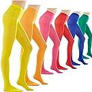 STYLEGAGA Women's 80 Denier Footed Pantyhose Tights