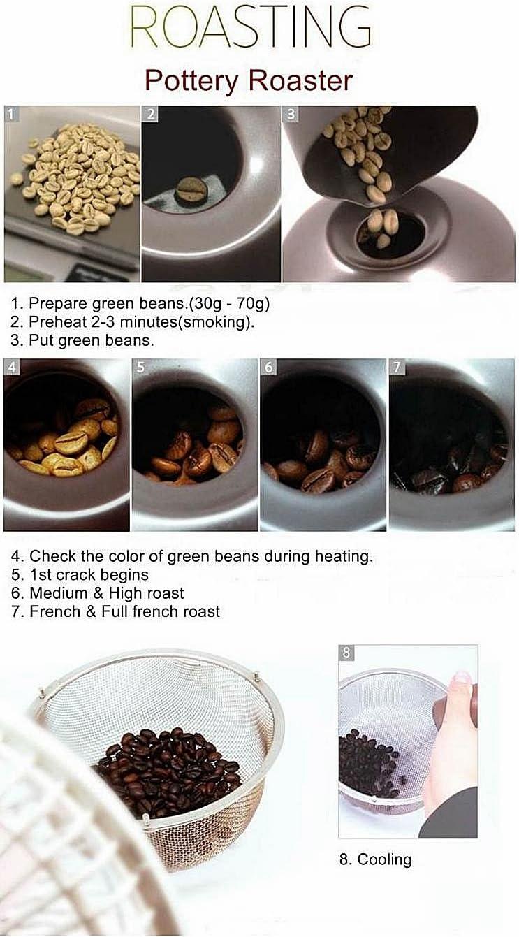 Nuvo Eco Ceramic Handy Coffee Bean Roaster