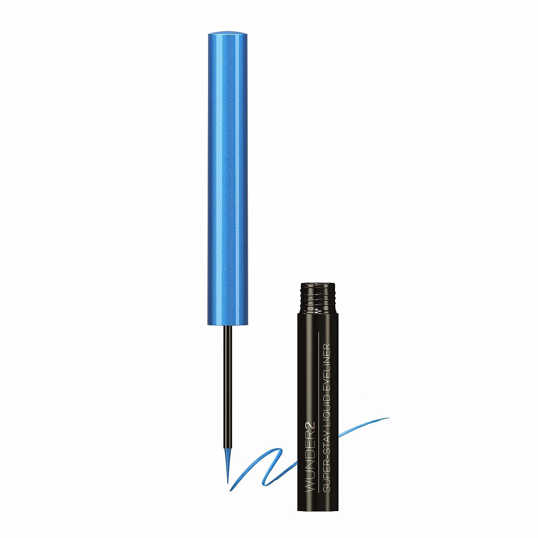 WUNDER2 Super Stay Long Lasting & Waterproof Liquid Eyeliner, 0.12 Fluid Ounce KF Beauty SSL_EYELINER
