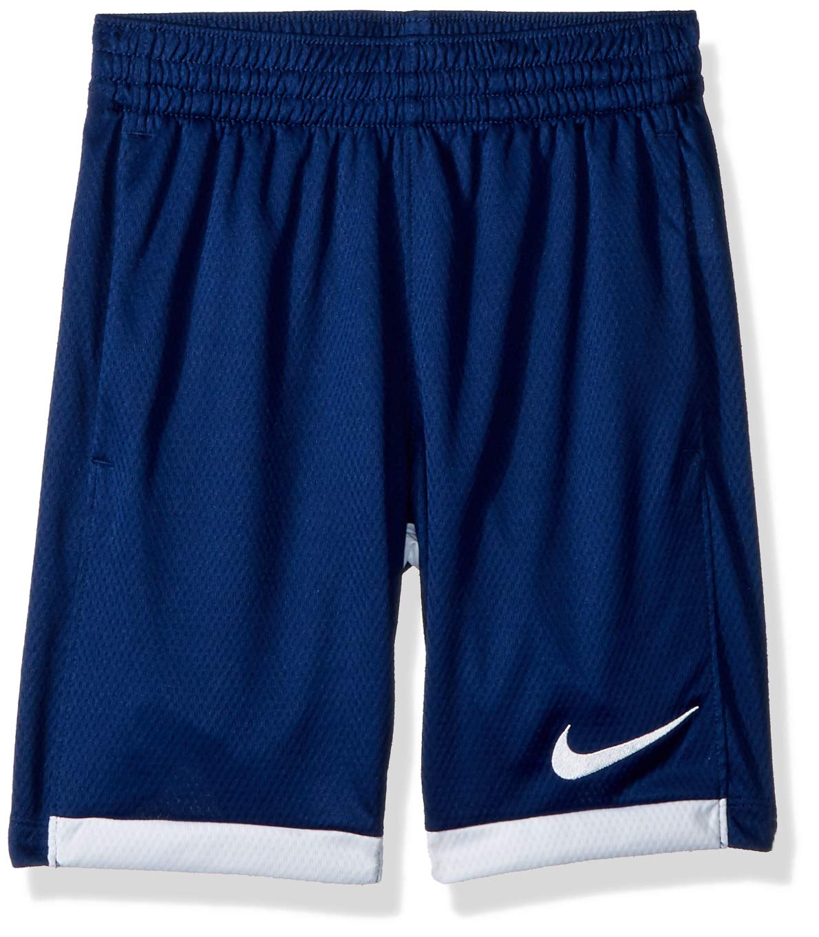 Nike 8'' Dry Short Trophy, Dri-FIT Boys' Training Shorts, Athletic Shorts, Blue/Void/White/White, S by Nike