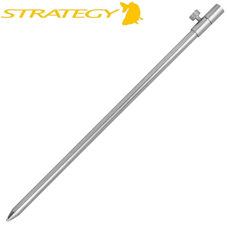 Erdspie/ß f/ür Karpfenbissanzeiger Bank Stick f/ür Rutenablage /& Buzzerbar Strategy Stainless Steel Bankstick 40-70cm