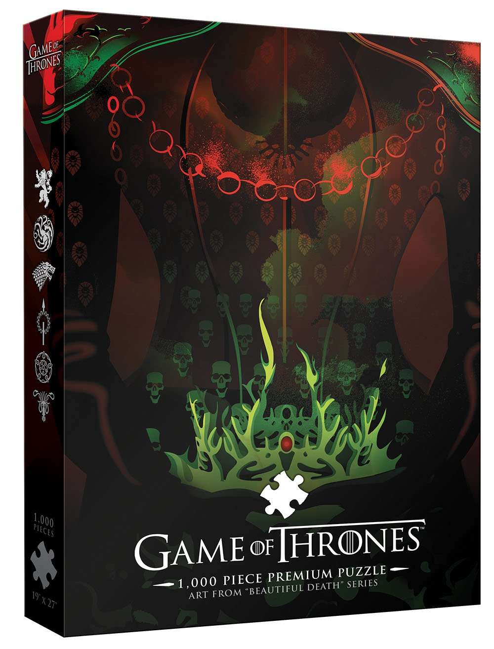 USAopoly Game Thrones Premium Puzzle: Jigsaw
