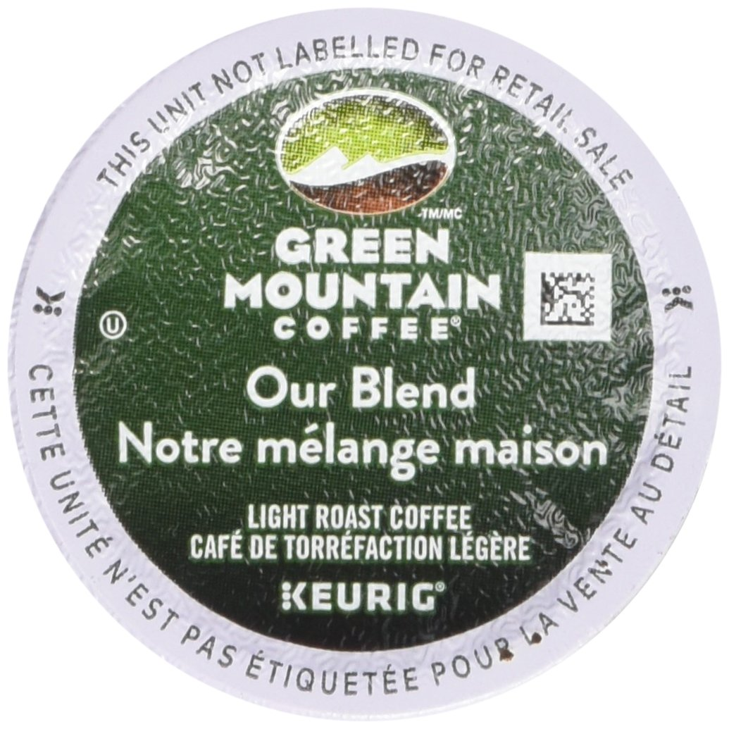 Green Mountain Our Blend Single Serve Keurig Certified K-Cup pods for Keurig brewers, 24 Count Green Mountain Coffee 74-06570