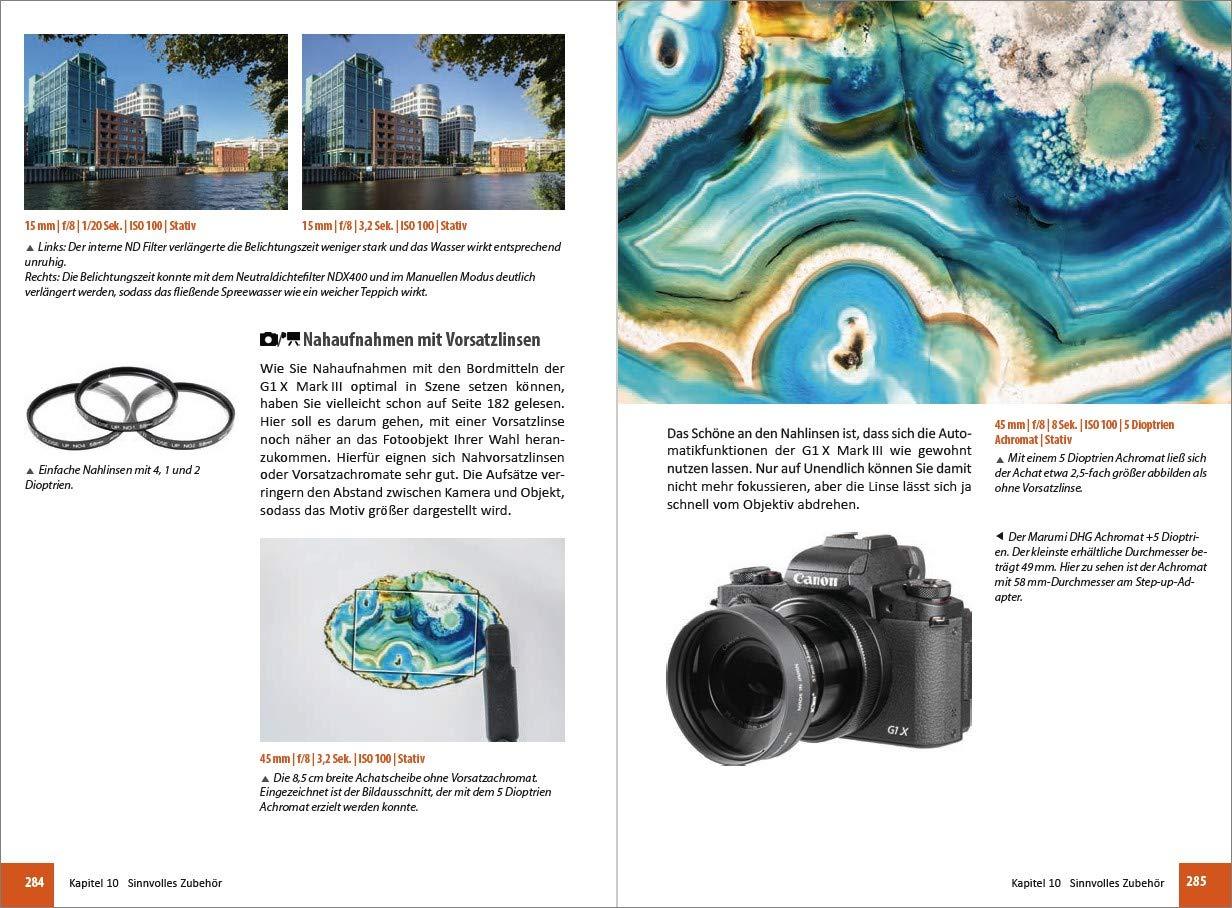Canon Powershot G1 X Mark Iii Für Bessere Fotos Von Anfang An Das Umfangreiche Praxisbuch Sänger Kyra Sänger Christian Bücher