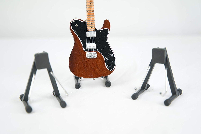 in metallo e plastica 3 pezzi Supporto per chitarra in miniatura