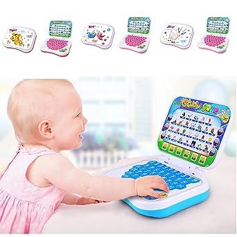 Tableta de aprendizaje para niños, para bebé, portátil, para estudio, computadora preescolar
