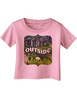 TooLoud Beautiful Cliffs Nature Infant T-Shirt