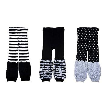 ab9853be96d Amazon.com  Kids Legging Trousers 3 Piece Set - Black