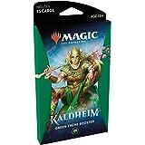 Magic The Gathering: Kaldheim| 35 cards, all based on a theme | Theme Booster Verde Unitário - Inglês