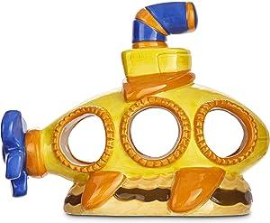 Imagitarium Resin Yellow Submarine Aquatic Decor, 1 LB