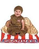 UHC Baby's Little Peanut Bunting Infant Fancy Dress Child Halloween Costume