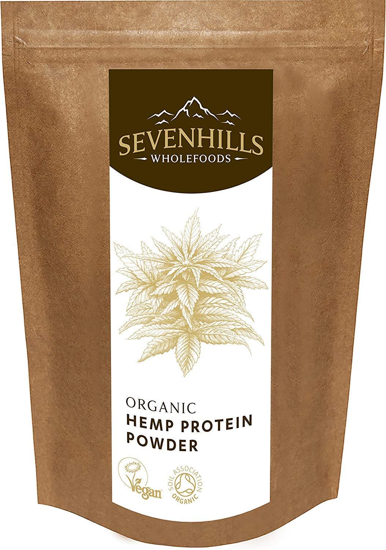 Sevenhills Wholefoods Organic Raw Hemp Protein Powder 500g by Sevenhills Wholefoods