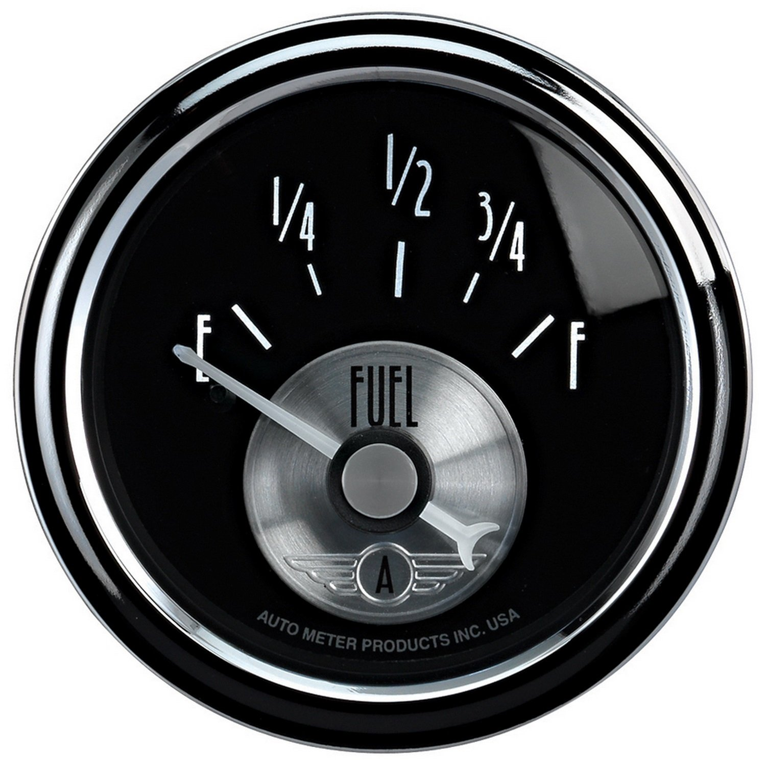 Auto Meter 2014 Prestige Black 2-1/16'' 0-90 Ohm Fuel Level Gauge
