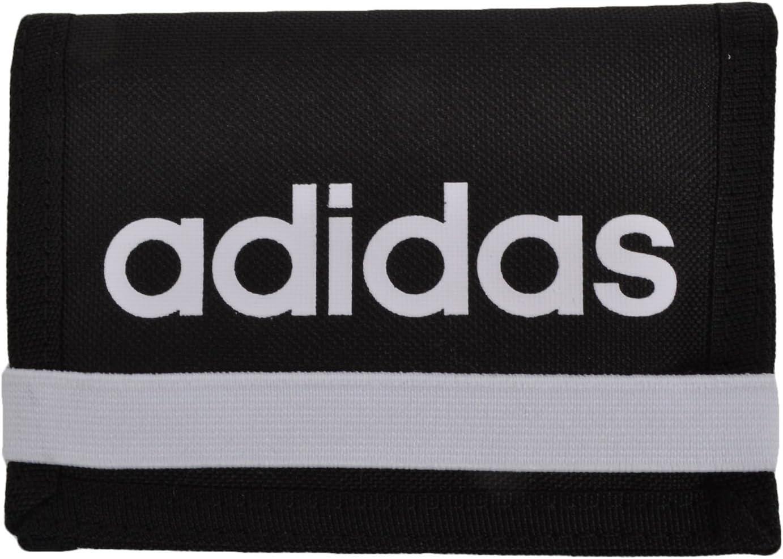 franja Ciego Solo haz  Adidas Performance Wallet Slim Compact Easy Open Black Model Linear Ess:  Amazon.co.uk: Sports & Outdoors