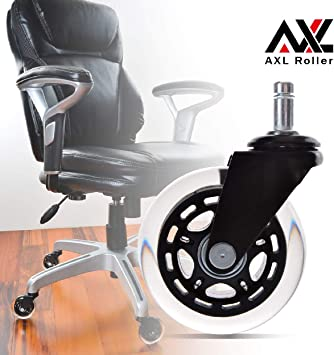 2/'/' PU Rubber Furniture Wheels Universal Wheels Computer Office Chair Caster