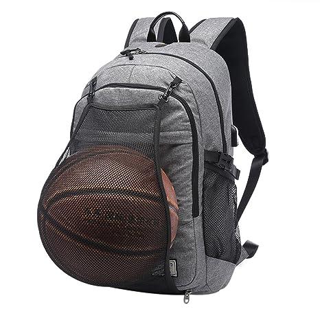 Txxci basket-ball Sac à dos pour ordinateur portable 39,6 cm Sac ...